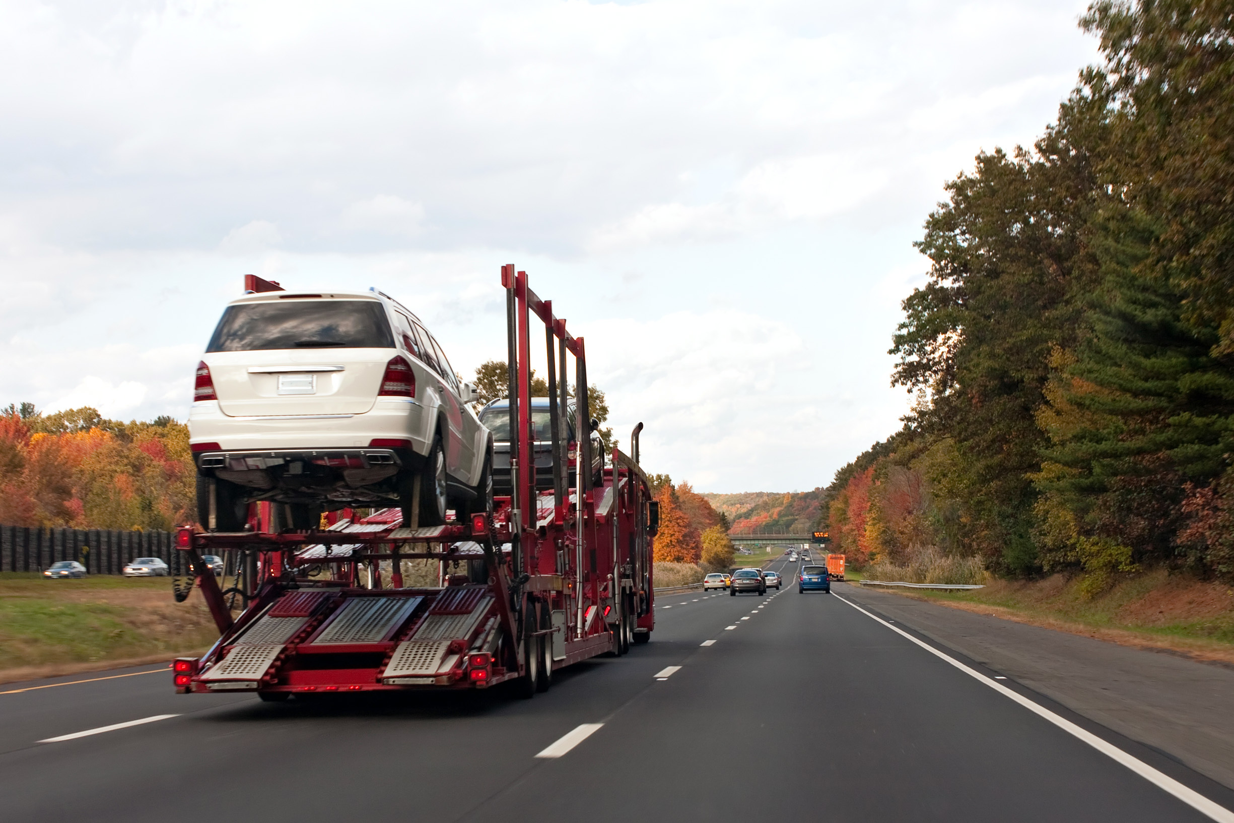 Car transport three